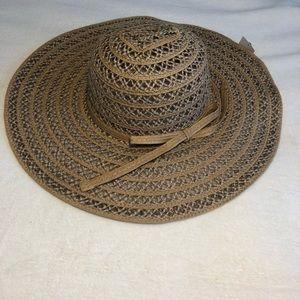 Accessories - NTW Tan Straw Beach Hat